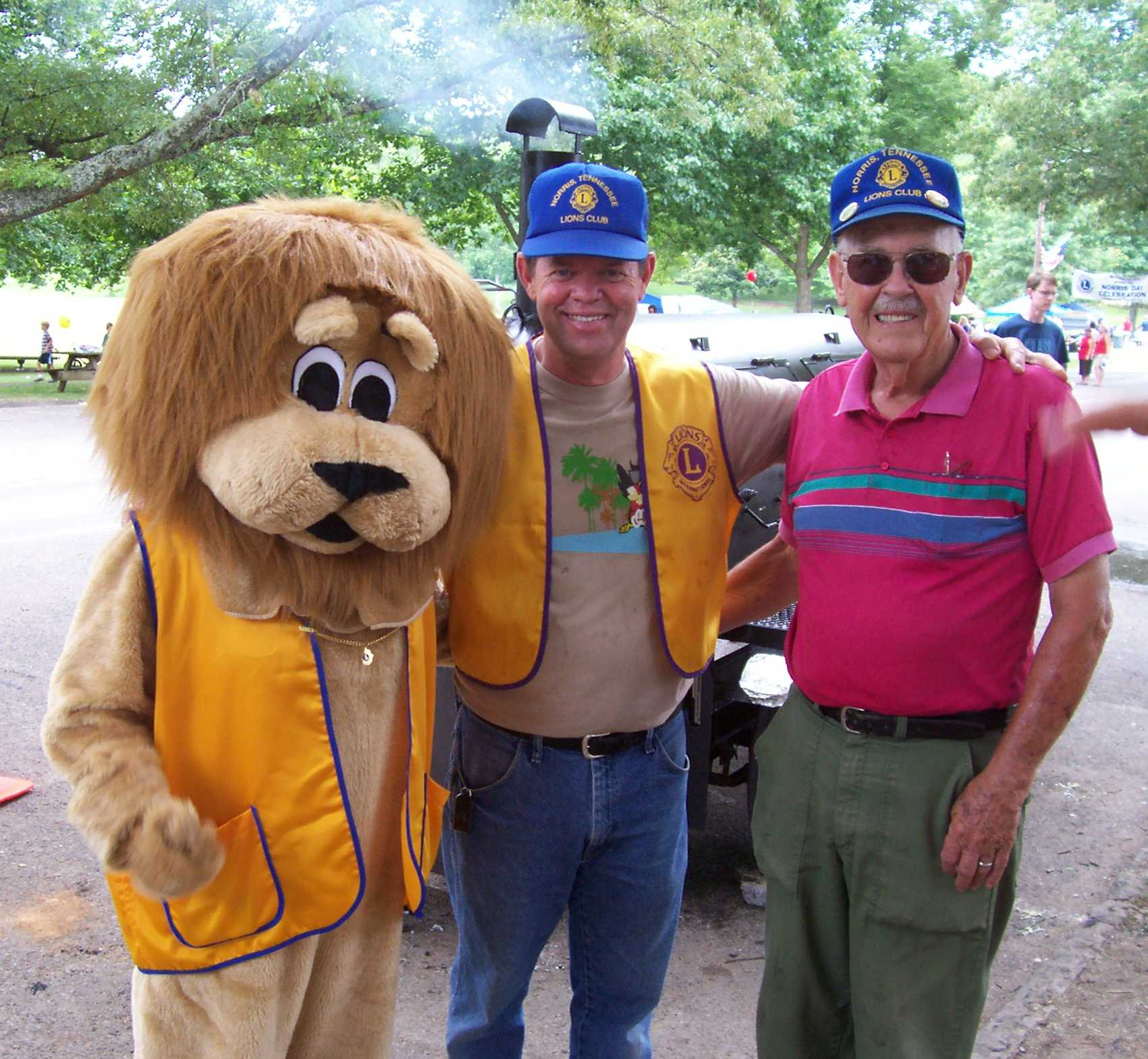 With Norris Lions