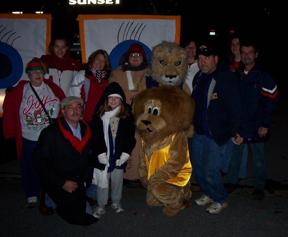 With the Morristown Lions