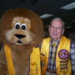 With Martin Skinner (Kingston Lions Club)