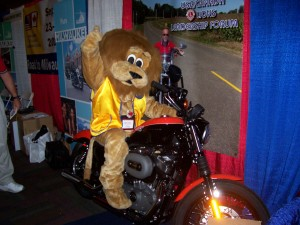 On a Harley to Milwaukee in 2010!
