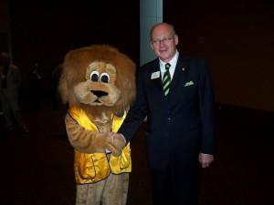 With LCI President Eberhard Wirfs